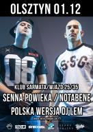 PW - Senna Powieka / Notabene TOUR - Olsztyn