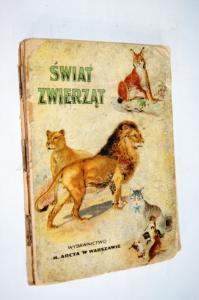 Świat zwierząt Schleyer atlas 1923