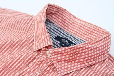 REDWOOD koszula męska codzienna PASKI MODNA _ XL