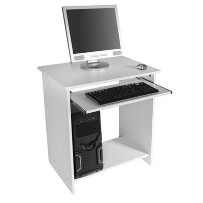 90b19 Biurko Pod Komputer Pc 65x45x75cm Białe Pro