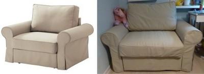 Fotel Rozkładany Ikea Backabromattarp