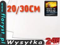 FILC DEKORACYJNY 20cm - 30cm 500g 3mm KOLOR BIAŁY