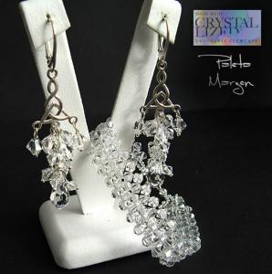 Komplet Swarovski Crystal grona  Gr03