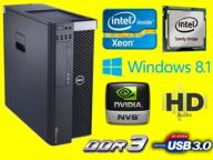 DELL PRECISION T3610 XEON E5-1603 32GB RAM 500 8P