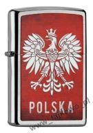 ZIPPO ZAPALNICZKA POLSKA BRUSHED 60002128 - SUPER!