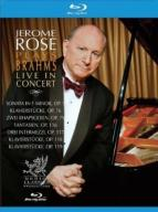 Jerome Rose Plays Brahms Live in Concert [Blu-ray]