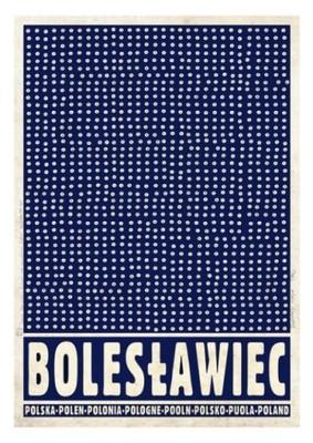 Bolesławiec Z Serii Plakat Polska Ryszard Kaja