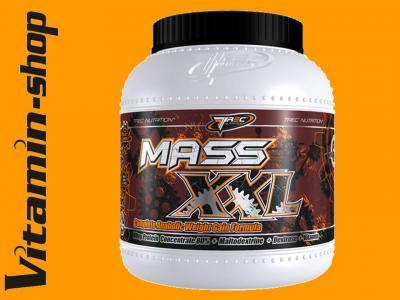 TREC MASS XXL 2 kg - KULTOWY GAINER [SMAKI]