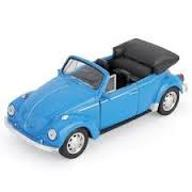 WELLY VW Beetle cabrio 1:34 otwier.drzwi metal 24H