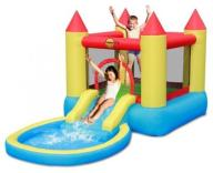 Dmuchaniec Happyhop Bouncy Castle With Pool Slide
