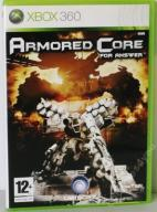 ARMORED CORE FOR ANSWER płyta jak nowa !