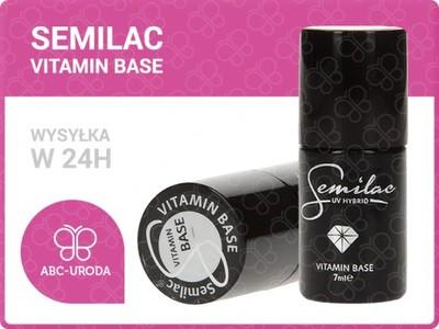 Semilac Base Vitamin Baza Witaminowa 7ml 6390402444 Oficjalne Archiwum Allegro