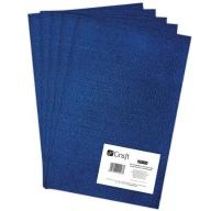 Filc poliestrowy A4, 5 szt. royal blue (DPFC-014)