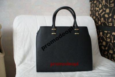 c0bfc1ed1e04e H&M torebka shopper czarna czerń sztywna - 3086849791 - oficjalne ...
