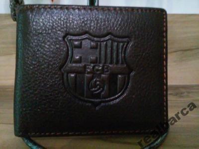 a142da21df2ac Portfel Portfele FC Barcelona skóra