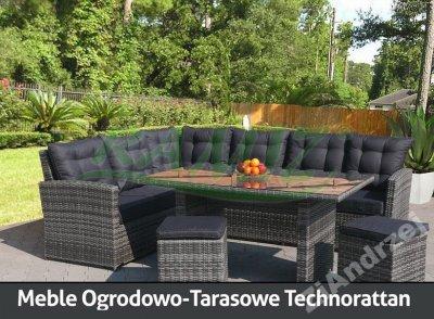 Meble Ogrodowe Rattan Ogród Patio Weranda Kraków