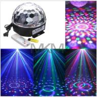 KULA DYSKOTEKOWA LED MAGIC DISCO LASER USB