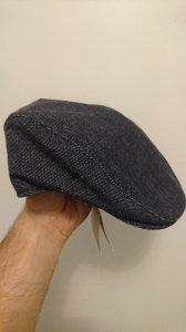 Kaszkiet, damska czapka Burberry jesienna Jeans