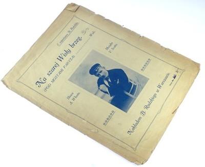 NA SZAREJ WISŁY BRZEG - WŁAST, SCOTTO, 1920