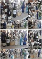 Butelki na alkohol whysky wino gin korki dębowe 34