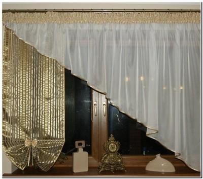 Firany Firanki Woal Skos Panel 4 Kolory K16 M 5121473835