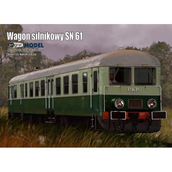 Wagon motorowy SN 61 Angraf Model 1:25