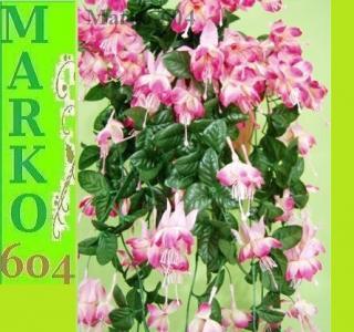 Sztuczna Fuksja Róż Mocny 22972 Na Balkon