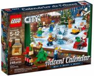 LEGO CITY 60155 KALENDARZ ADWENT SKLEP WROCŁAW