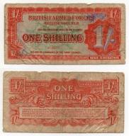WIELKA BRYTANIA / ARMED FORCES 1948 1 SHILLING