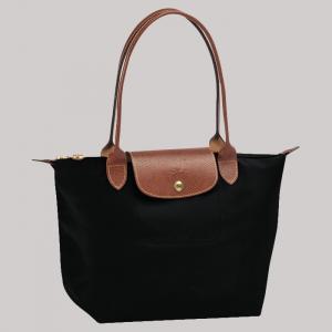 LONGCHAMP Le Pliage Black Shopper Torba M BCM