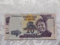 MALAWI 20 KWACHA 2012 r. STAN ( UNC )