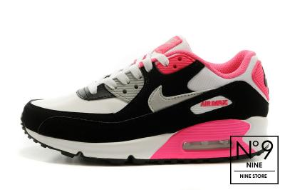 N9 Nike Air Max 90 (122) Różowe Czarne 37.5 4719723936