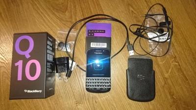 !OKAZJA! BlackBerry Q10 Black SQN100-3 LTE !BCM!