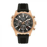 Bulova Men's Designer Chronograph Watch Sports Rub