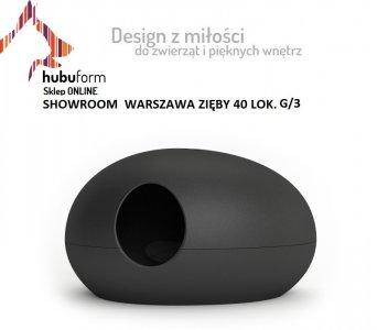 48db6d02f7b765 Kuweta dla kota czarna i biała Hubuform Warszawa - 6188310669 ...