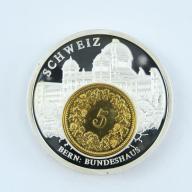 5 Rappen 89 Szwajcaria + numizmat BERN - B285