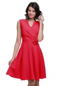 5524c20658 Sukienka Z Różą Na Wesele Komunie r 42 - 6064967677 - oficjalne ...