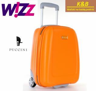 32fed91cf93e6 Puccini walizka Wizzair bagaż pokładowy 42x32x25 - 5072330417 ...