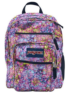 JanSport Plecak Torba Big Student Flower zUSA 6921218184