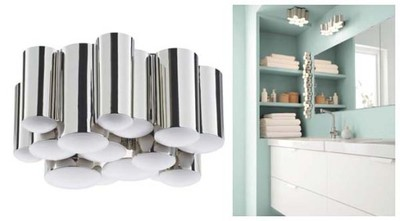 Ikea Sodersvik Lampa Sufit Oświetlenie Do łazienki