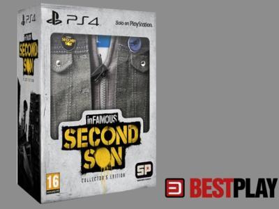 Infamous Second Son Pl Edycja Kolekcjonerska 4074773958 Oficjalne Archiwum Allegro