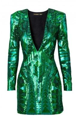 87d7b5dbc9 BALMAIN H M sukienka cekiny r. 36   S - 6667677778 - oficjalne ...