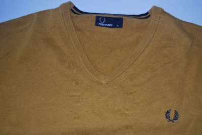 Fred Perry sweter skinhead rudeboy oi XL