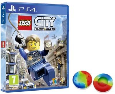 LEGO CITY TAJNY AGENT UNDERCOVER PS4 PL + gratis!