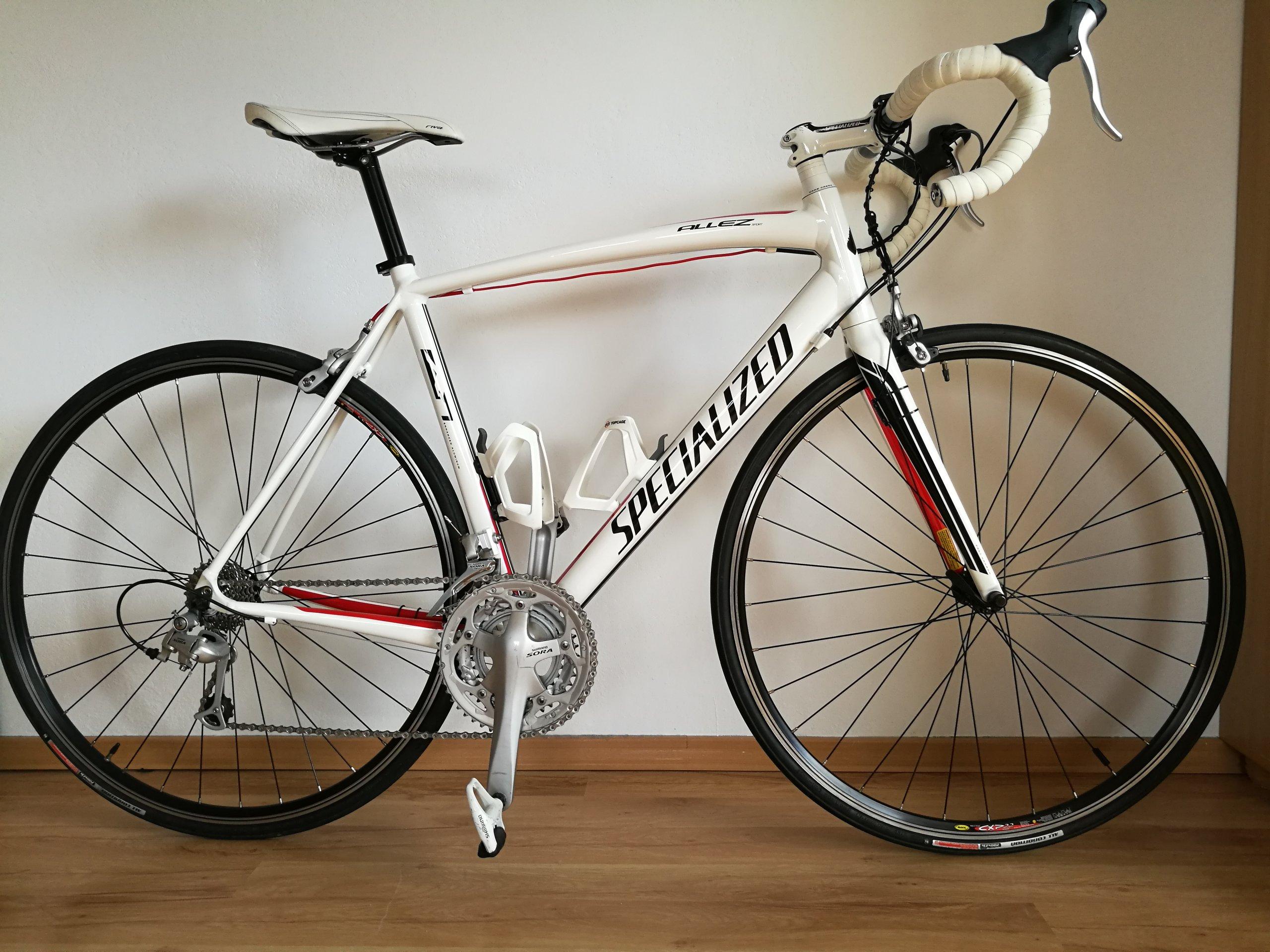 Specialized Allez Sport + akcesoria