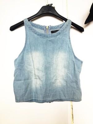 Gorset / bralet / crop top jeans atmosphere