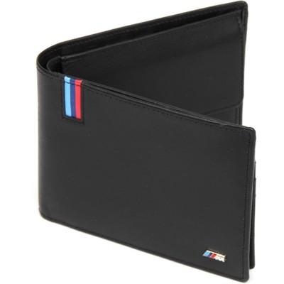 c139eb8302167 BMW portfel ///M skórzany męski ORYGINAŁ Nowy - 6825678617 ...