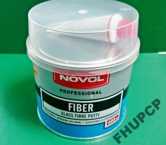 Szpachla z włóknem szklanym FIBER NOVOL 600g fv