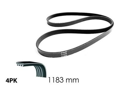 Pasek klinowy wielorowkowy, Micro-V TOYOTA YARIS