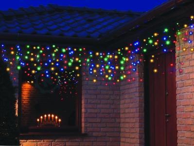 Oświetlenie świąteczne Led Kurtyna Zewnętrzna 10m